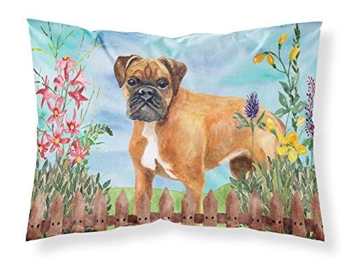 Caroline's Treasures German Boxer Spring Pillowcase, Standard, Multicolor from Caroline's Treasures