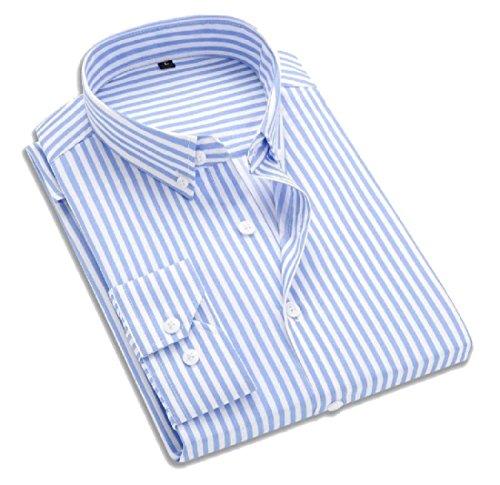 Nice SportsX Men Stripe Mulit Color Stylish Long Sleeve Tops Non-Iron Dress Shirts hot sale