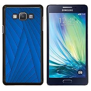 Stuss Case / Funda Carcasa protectora - Líneas Resumen Deep Dark - Samsung Galaxy A7 ( A7000 )