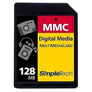 SimpleTech STI-MMC/128 128MB MultiMedia Card