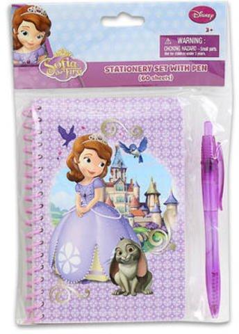60 Sheet Disney Sofia the First Journal w/Pen 48 pcs sku# 1859041MA by Disney