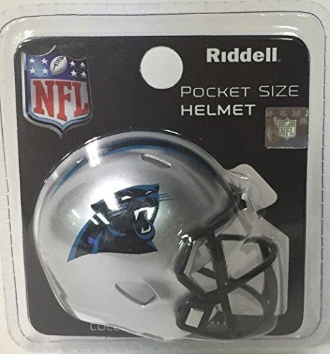 - Carolina Panthers Riddell Speed Pocket Pro Football Helmet - New in package