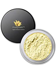 Mudflower Cosmetics Yellow Color Corrector Mineral Primer, Yellow, 1.0 ounce
