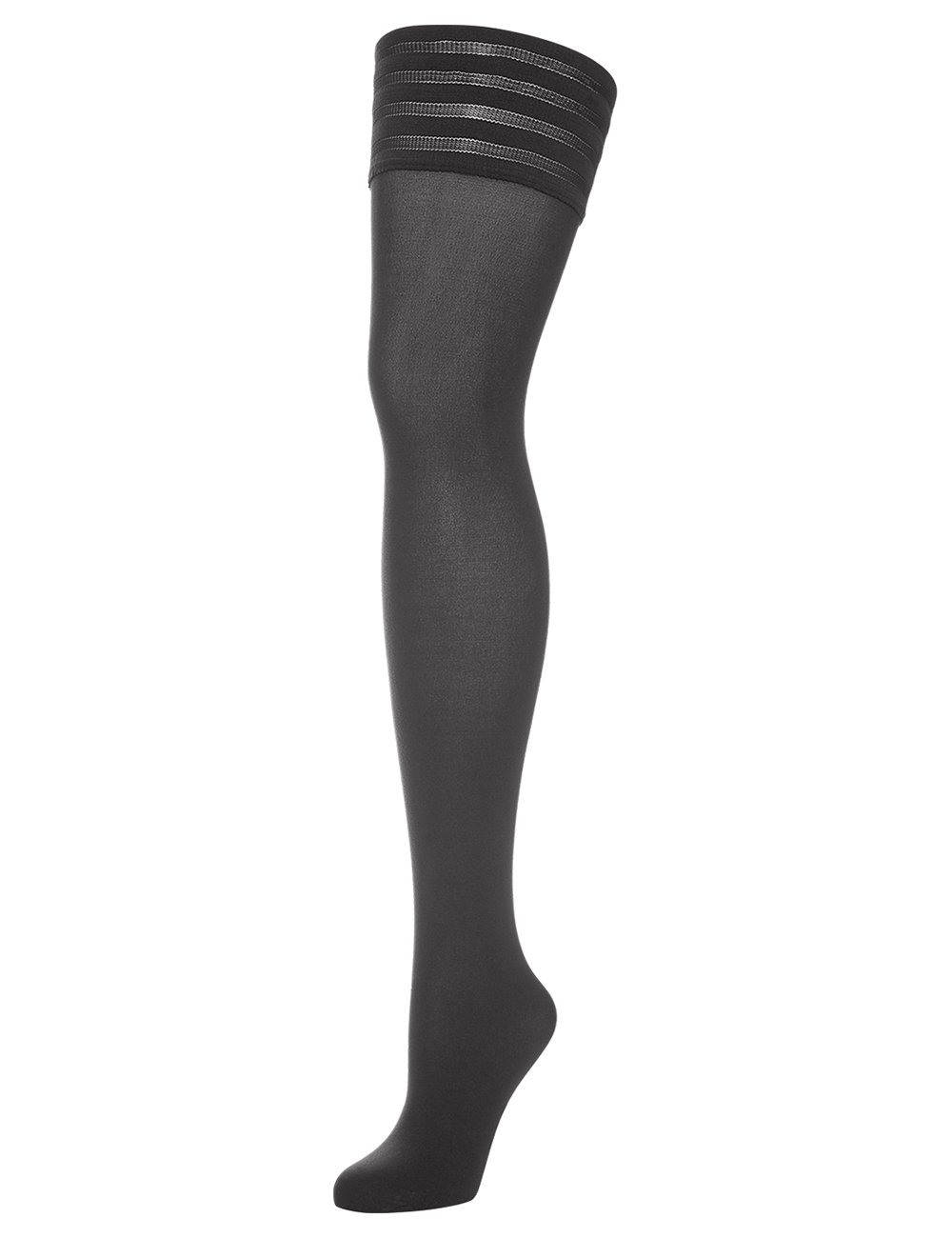 Wolford Velvet de Luxe Thigh Highs, Medium, Anthracite by Wolford