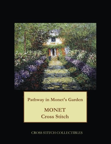- Pathway in Monet's Garden: Monet cross stitch pattern
