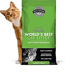 WORLD\'S BEST CAT LITTER 391032 Clumping Litter Formula 28-Pound
