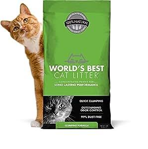 WORLD'S BEST CAT LITTER 391032 Clumping Litter Formula 28-Pound