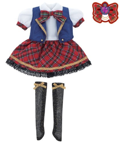 Rika -chan Harajuku Girls School Corde Dress Set SEIFUKU LICCA - Licca Dress Set