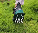 Wistar Lawn Aerator Shoes Metal Buckles and 3 Straps - Heavy Duty Spiked Sandals for Aerating Your Lawn or Yard, Universal Size That Fits All (Pre-Assembly)