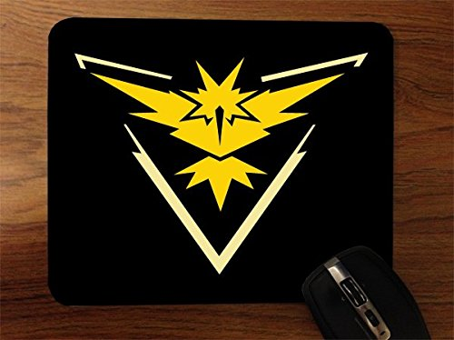 Detailed Fan Made Instinct Art w/ Black Background Desktop Office Silicone Mouse Pad by MWCustoms