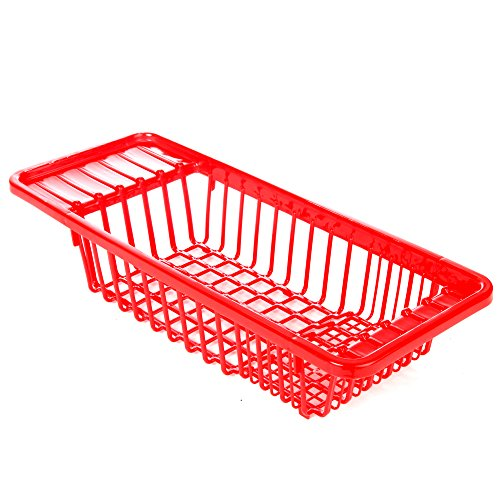 Home-X - Over Sink Dish Drainer, Durable Multipurpose Dish D