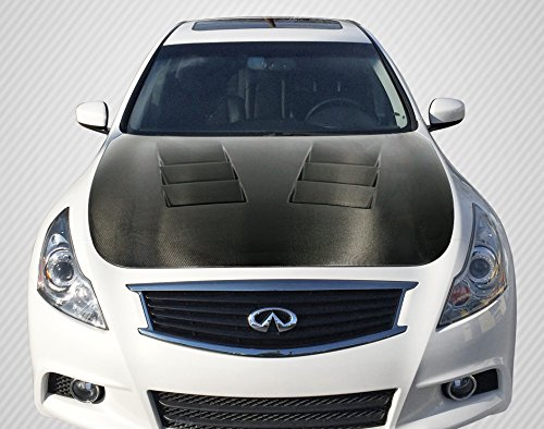 Carbon Creations ED-PVJ-224 DriTech TS-1 Hood - 1 Piece Body Kit - Compatible For Infiniti G Sedan 2007-2013