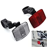 DEMY Front & Rear Bicycle Reflectors Kit