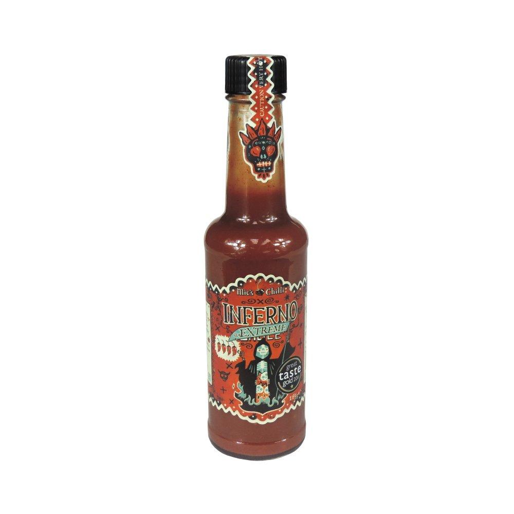 Mics Chilli - Inferno Sauce - Extreme - 165g: Amazon.es: Alimentación y bebidas