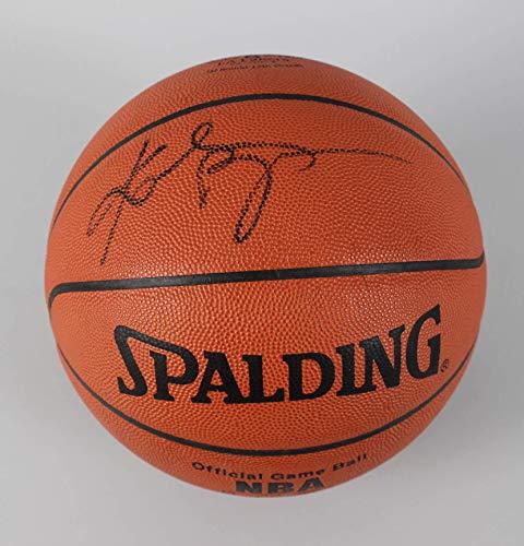f2918ac2 Kobe Bryant Signed Basketball Lakers - COA PSA/DNA