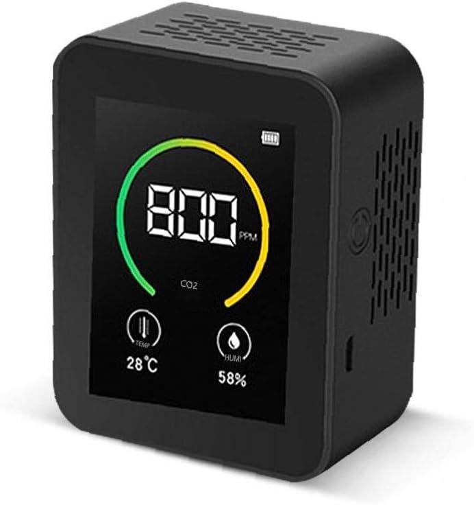 Anidride carbonica rivelatore di Gas Concentrazione di schermo a Colori Tft Content Intelligent Air Quality Analyzer Co2 Meter