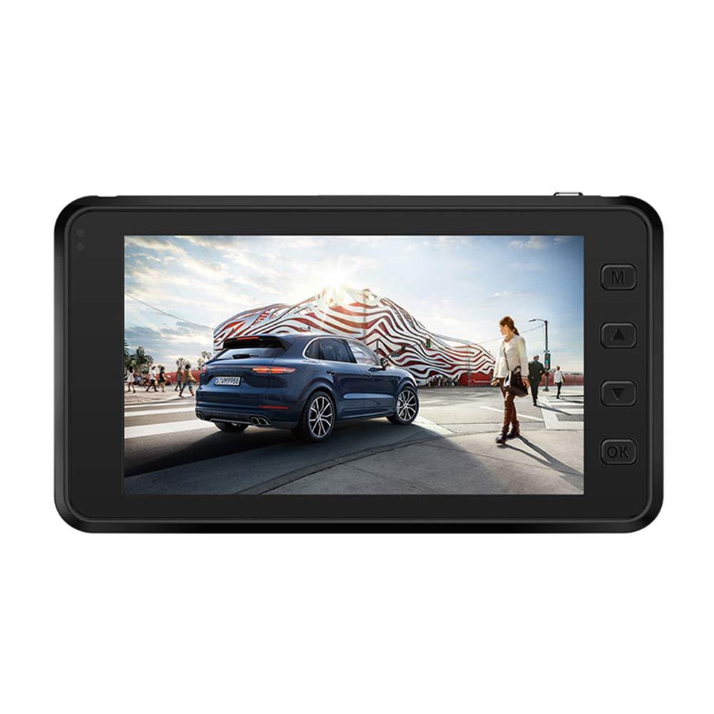 ELFL Cámara para Auto, cámara para Auto Full HD 1080P, Gran Angular de 140 ° y 3.0 Pulgadas con Sensor de Gravedad, detección de Movimiento, grabación en Bucle, monitoreo de estacionamiento
