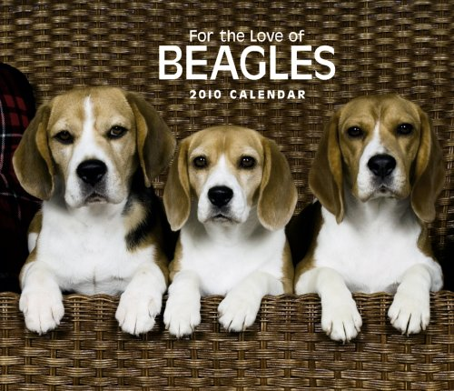 Beagles, For the Love of 2010 Deluxe Wall (Multilingual - 2010 Calendar Beagle