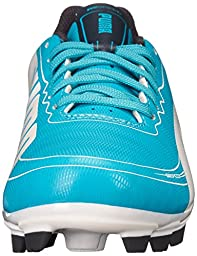 PUMA Evospeed 5.2 Firm Ground JR Soccer Shoe (Little Kid/Big Kid),Beetroot Purple/Bluebird/White,1.5 M US Little Kid
