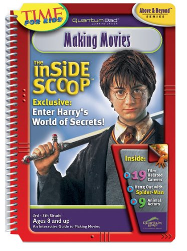 Quantum Pad Learning System: The Inside Scoop - Making Movies Interactive Book and Cartridge