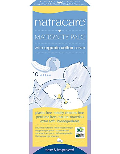 Natracare New Mother Pads Maternity 10 per pack (PACK OF 4)