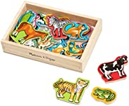 Melissa & Doug 20 Animal Magnets in a