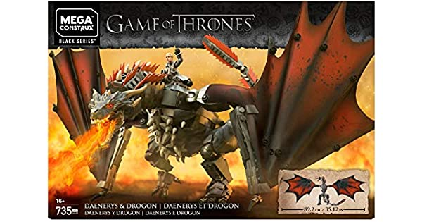 Mega Construx Game Of Thrones Daenerys Drogon Playset