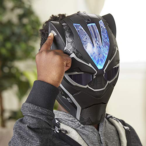 Black Panther Vibranium Power FX Mask with Pulsating Light Effects