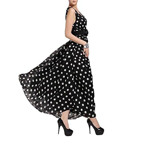 Scott-Vincent Borba Haute Couture Polka Dot Chiffon