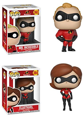 Amazon Com Funko Pop Incredibles 2 Mr Incredible Elastigirl