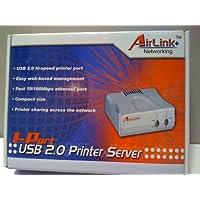 AirLink + Networking - 1-Port USB 2.0 Printer Server APSUSB201
