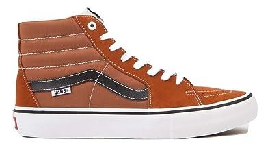 7f51de41fa Vans SK8 HI PRO Glazed Ginger Black White Men s Shoes (7 D US