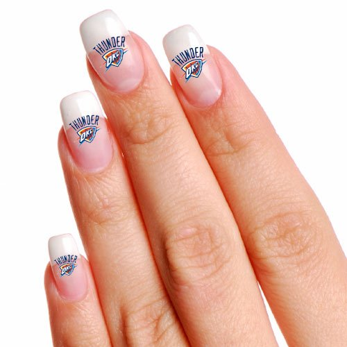 Best Prices! Wincraft NBA Oklahoma City Thunder 4-Pack Temporary Nail Tattoos