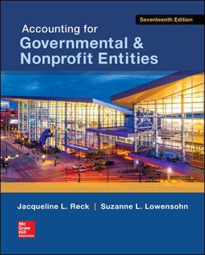 Pdf Business Accounting for Governmental & Nonprofit Entities