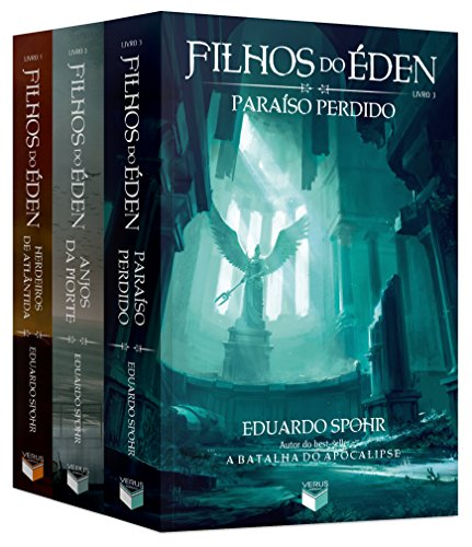 Kit Filhos do Éden - 3 Volumes