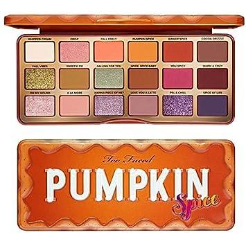 Too Faced Pumpkin Spice Paleta De Sombras De Ojos Cálidas Y Picantes Beauty