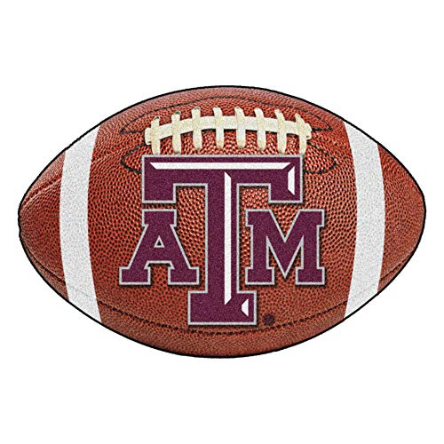 FANMATS NCAA Texas A&M University Aggies Nylon Face Football -