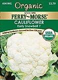 Ferry-Morse Organic Cauliflower, Snowball Seeds