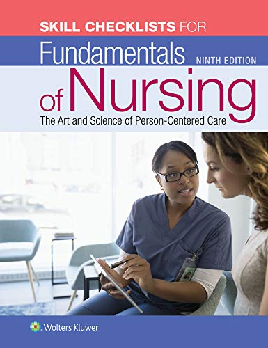 Nursing Package - Taylor: Fundamentals of Nursing 9th edition + Skills Checklist Package
