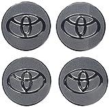 Automotive : 4pcs C023 56.5mm Car Styling Accessories Emblem Badge Sticker Wheel Hub Caps Centre Cover TOYOTA COROLLA RAV4 Camry PRIUS REIZ VIOS YARIS EZ