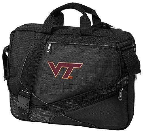 Large Virginia Tech Hokies Laptop Bag OUR BEST Virginia Tech Computer Bag by Broad Bay