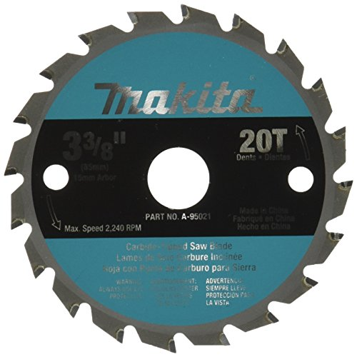 -Inch T.C.T. Saw Blade For Wood (Makita Trim Saw)