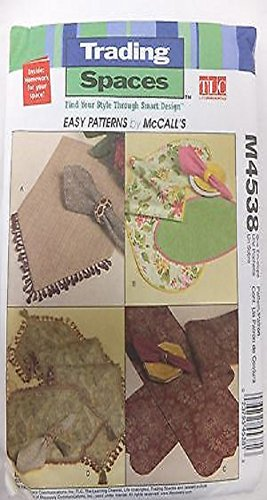 Mccall's Trading Places Table Runner, Placemat, Napkins M4538