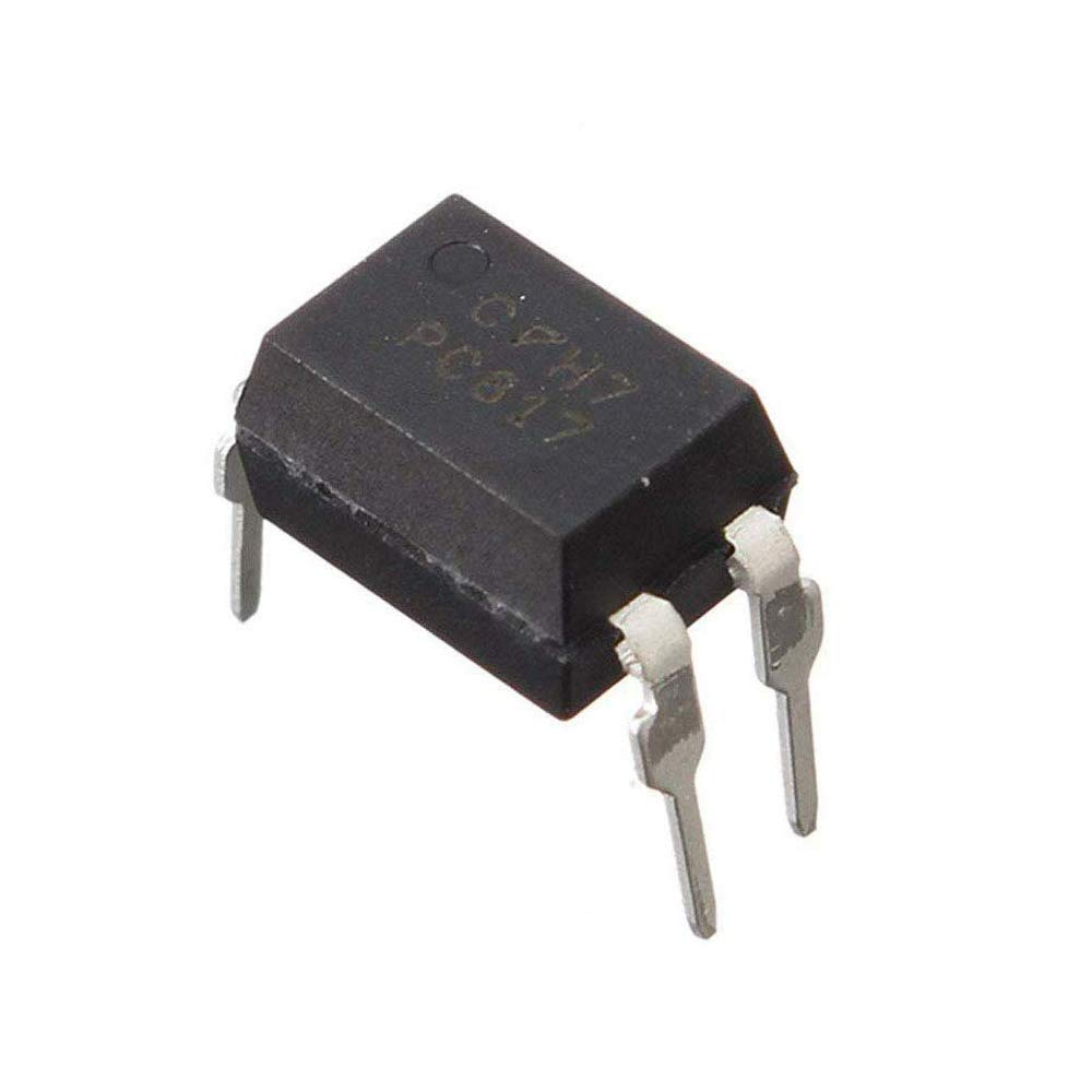 Pack of 100 Pieces) MCIGICM pc817 optocoupler Optoisolator Transistor  Output 5000Vrms 1 Channel 4-DIP: Amazon.com: Industrial & Scientific