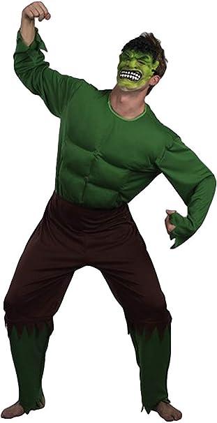 Hombre Adulto Verde Giant El Increíble Hulk Músculo Superhéroe ...