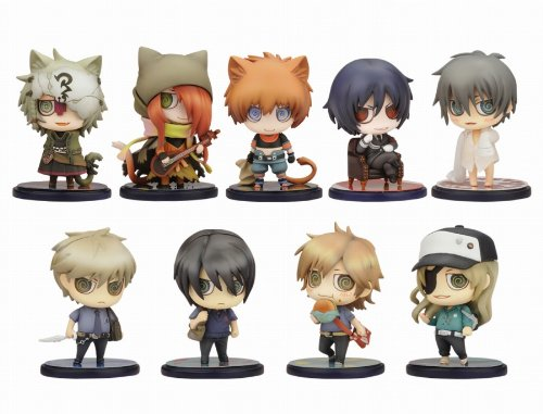 One Coin Grande Figure Collection : Nitro+ Chiral no Mori Box (Set of 10) by Kotobukiya
