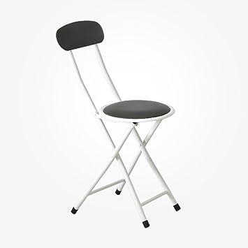 Folding chair Silla Plegable Taburete, Respaldo para el ...