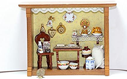 Dollhouse Miniature Wood Wine Themed Tray