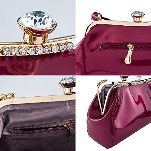 Bagood Pochette Bordeaux Bagood femme Pochette pour q7OOwP