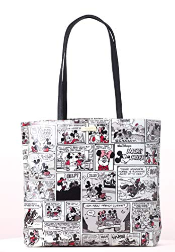Disney Kate Spade New York For Minnie Mouse Comic Tote Bag Purse ()